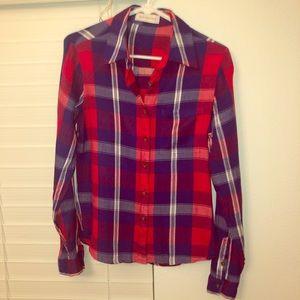Kittenish Plaid Shirt
